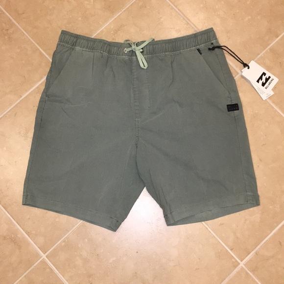 NEW  Billabong Larry Layback Walk-shorts f3507d24734a